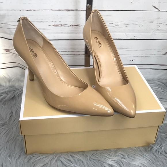 83ed85768 Michael Kors Shoes | Flex Mid Pump Nude | Poshmark